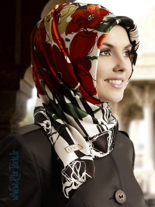 مدل روسری اسلامی | wWw.PixTurk.Ir