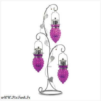 عکس هایی از طراحی بسیار زیبا و خلاقانه شمعدانی | wWw.PixTurk.Ir